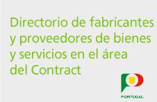 Directorio de Fabricantes y Proveedores de bienes y servicios en el área del Contract (Materiales de Construcción, Arquitectos y